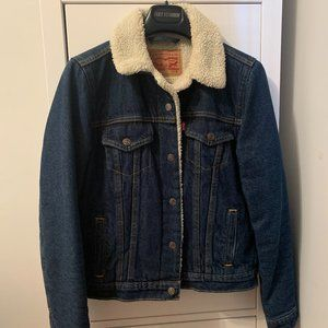 Levi's jeans jacket.  Great condition!